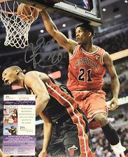 Jimmy Butler Chicago Bulls Signed 11x14 Autographed Photo JSA COA N1