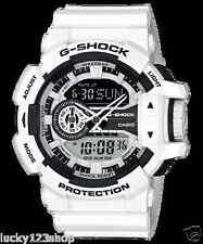 GA-400-7A White G-Shock 200m Digital Resin Band 200m Casio Sport Men's New