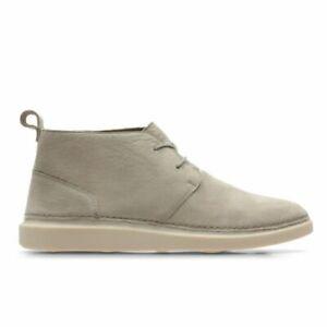 BNIB Clarks Ladies Hale Lo Sand Nubuck Leather Ankle Boots