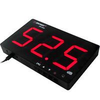 "3"" Wall Mount LCD Digital Sound Level Meter 30~130dB Decibel Noise Measurement N"