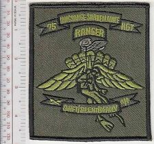 Ranger US Army 75th Infantry Regiment Airborne Combat Diver Freefall HALO HAHO a