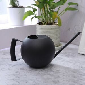 500ml Indoor Small Stainless Steel Watering Can Pot Garden Spout Plant Tool··