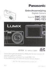 Panasonic dmc-tz2 dmc-tz2 Gebruiksaanwijzing Digitale Camera - (0974)