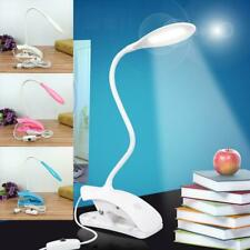 DC 5V Clip Type LED Table Lamp Eye Protection Gooseneck USB Reading Light
