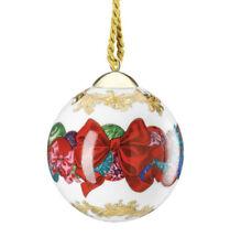 VERSACE CHRISTMAS BALL ORNAMENT LUXURY PRESTIGE GIFT IDEA New in box SALE