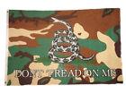 3x5 Gadsden Culpeper Culpepper Camo Don't Tread on Me Premium Flag Banner 100D