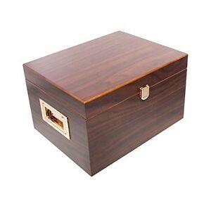 Supreme Valet Box in Dark Walnut