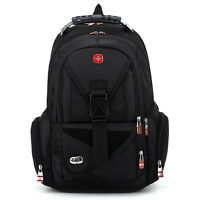 "Swissgear Travel Backpack Daypack Schoolbag 15"" Laptop Bag Rucksack Bookbag New"