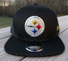 75e5855b0d0 Era Pittsburgh Steelers Black 2017 Color Rush 9fifty Snapback Adjustable Hat