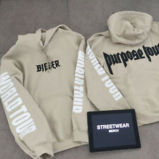 New 2016 Justin Bieber Purpose The World Tour Hoodie Sweatshirts Pullover Unisex