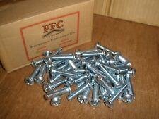"(Qty.100) 3/8-16 X 1-1/2"" Round Head Slotted Phillips Combo Zinc Machine Screws"