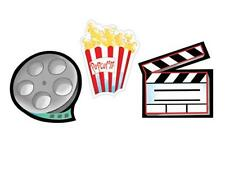 Lights Camera Action Cut Outs 3 Pack