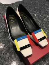 Roger Vivier Belle Vivier patent leather pumps sz36.5 as is.