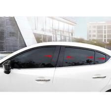 For Mazda3 Axela M3 2014-18 Mirror Effect Window Center Pillar Frame Trim Kit k