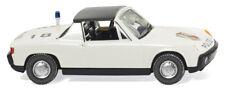 Wiking 086437 - 1/87 Polizei - Vw Porsche 914 - Neu