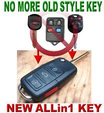 Purple Silicone Case Cover For Ford Lincoln Mercury Remote Key 4 Button F4RPU