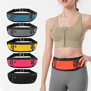 Waterproof Hidden Pouch Running Waist Bag Mobile Phone Case Sports Belt Pouch