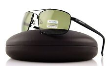 Genuine POLARIZED SERENGETI PALLADIO Satin Black PHD 555NM Lens Sunglasses 7567