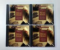 Walt Disney Records The Music Behind The Magic 4 CD Set 1994 Vintage VTG