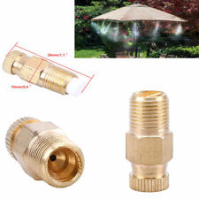 """1/8"""" Garden Patio Brass Misting Nozzle for Cooling System Humidification Sprayer"""