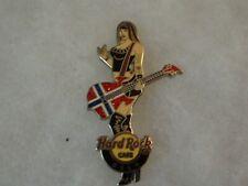 Hard Rock Cafe Pin Oslo Rocker Girl with Guitar 2011