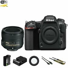 Nikon D500 DSLR Camera Body +  50mm AF-S Nikkor f/1.8G Lens