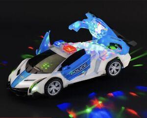 Polizei Auto Rennauto Elektronisches Spielzeug Licht Musik Autobots Police car