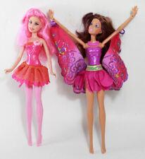 Lot of (2) Mattel Barbie Fairy Secret Friend Fashion Dolls