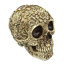 1 1 Lifesize Resin Carving Human Skull Replica Teaching Model Halloween Décor