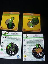 Heroclix War of Light Jade 106 Jon Stewart 105 Catapult Scissors Objects