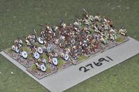 10mm roman era / late roman - auxiliaries 52 figures - inf (27691)