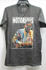 Men's Brooklyn Notorious B.I.G. Gray Sz.S T-Shirt