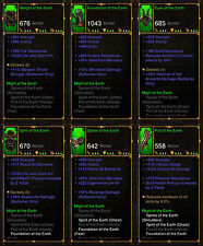 Diablo 3 RoS PS4 [SOFTCORE] - All Barbarian Ancient Class Sets [Check Images]