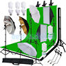 Photography Studio Background Stand Set Backdrop Softbox Umbrella Lighting Kit