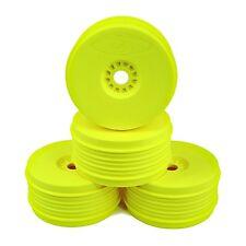 DE Racing SpeedLine Plus 1/8 Scale Buggy Wheels  (Yellow) DER-PSB-8Y