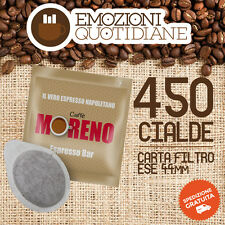 450 Cialda ESE 44mm caffè MORENO ESPRESSO BAR per PHILIPS SAECO HD8325/71