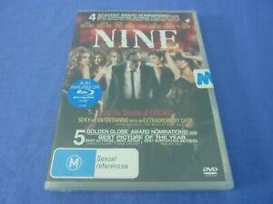 Nine DVD Daniel Day-Lewis Penelope Cruz Nicole Kidman R4 New Sealed