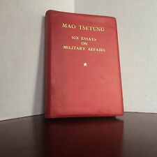 Mao Tsetung Six Essays on Military Affairs Foreign Language Press Peking 1972
