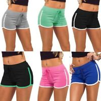 Women Sports Shorts Casual Beach Summer Running Gym Yoga Ladies Pants