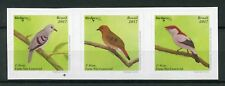 Brazil 2017 MNH Birds 3v S/A Strip Birdpex Stamps