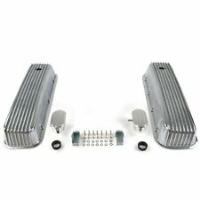 Vintage Finned Valve Covers w/ Breathers (PCV)Big Block Chevy VPA7AC0E muscle