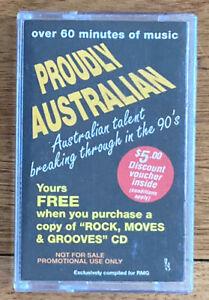 Proudly Australian cassette tape incl early Powderfinger (1994)