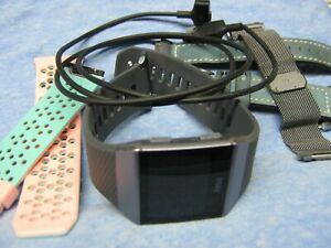 FITBIT Ionic Smart & Fitness Watch FB503 with Extras