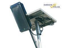 12W Solar Street Light with Inbuilt Batteries + 20W Solar Panel