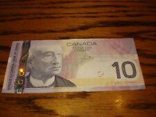 2005 - Canadian ten dollar bill - $10 Canada note - BTE4670838