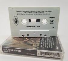 Juice Newton - Juice (Cassette 1981 Capitol) 4XT-12136 (US) Version RARE Stereo