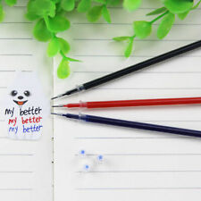 20 Pcs 0.5mm Ballpoint Pen Refills Gel Black Ink Refill Writing Pens