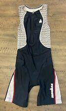 Ironman Brand Cycling Padded Triathlon Skinsuit Singlet Womens Size Xs Swim Suit