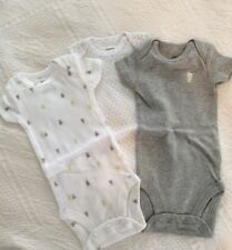 Adorable One Piece Bodysuits By Carter's NWOT  NB Three Bodysuits