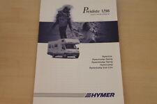 175083) Hymercar Hymercamp Swing Hymertramp - Preise & Extras - Prospekt 06/1997